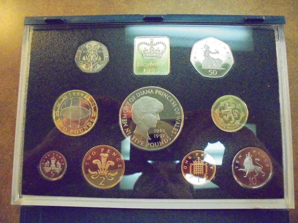 1999 UNITED KINGDOM PROOF COIN COLLECTION