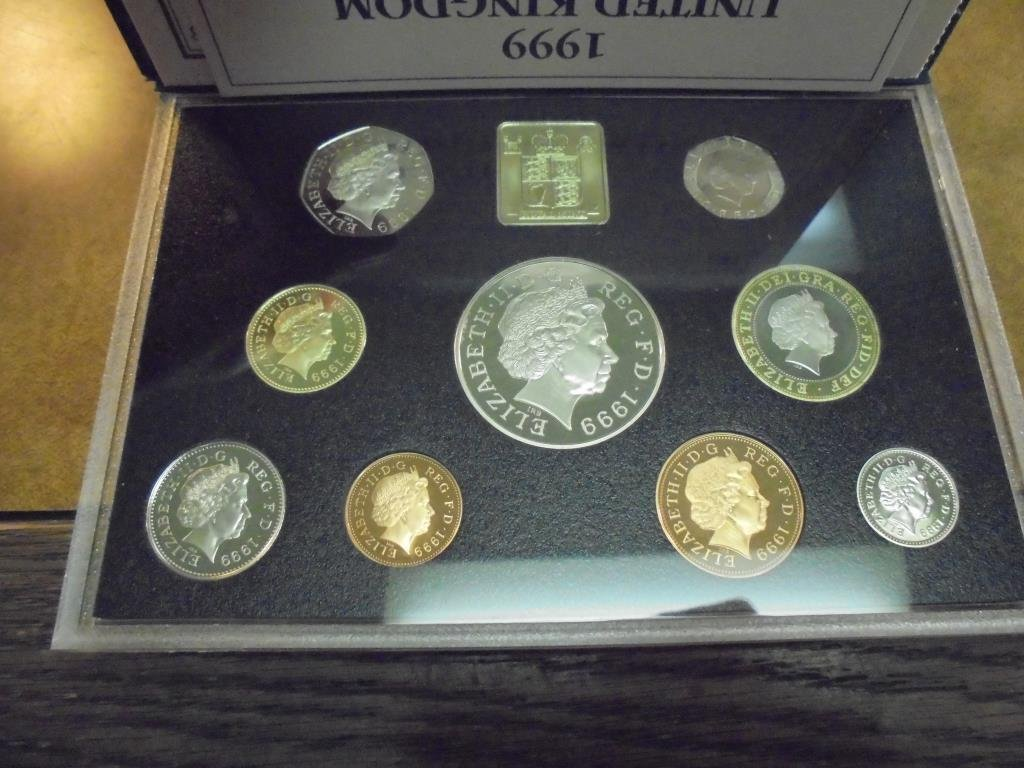 1999 UNITED KINGDOM PROOF COIN COLLECTION - 2