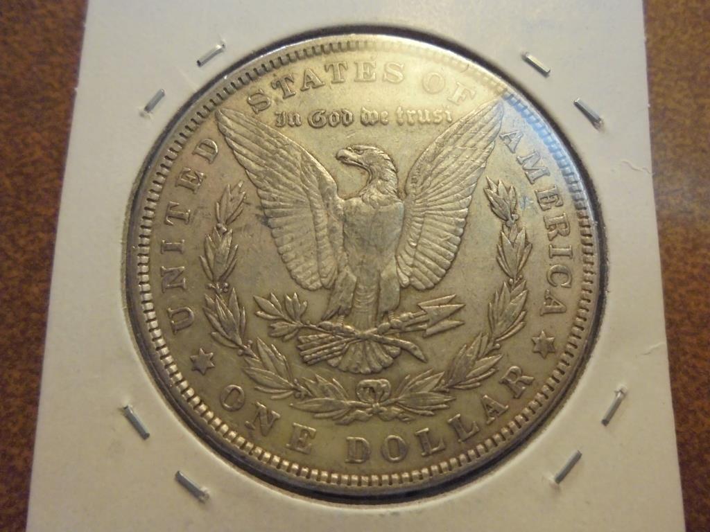 1902 MORGAN SILVER DOLLAR - 2