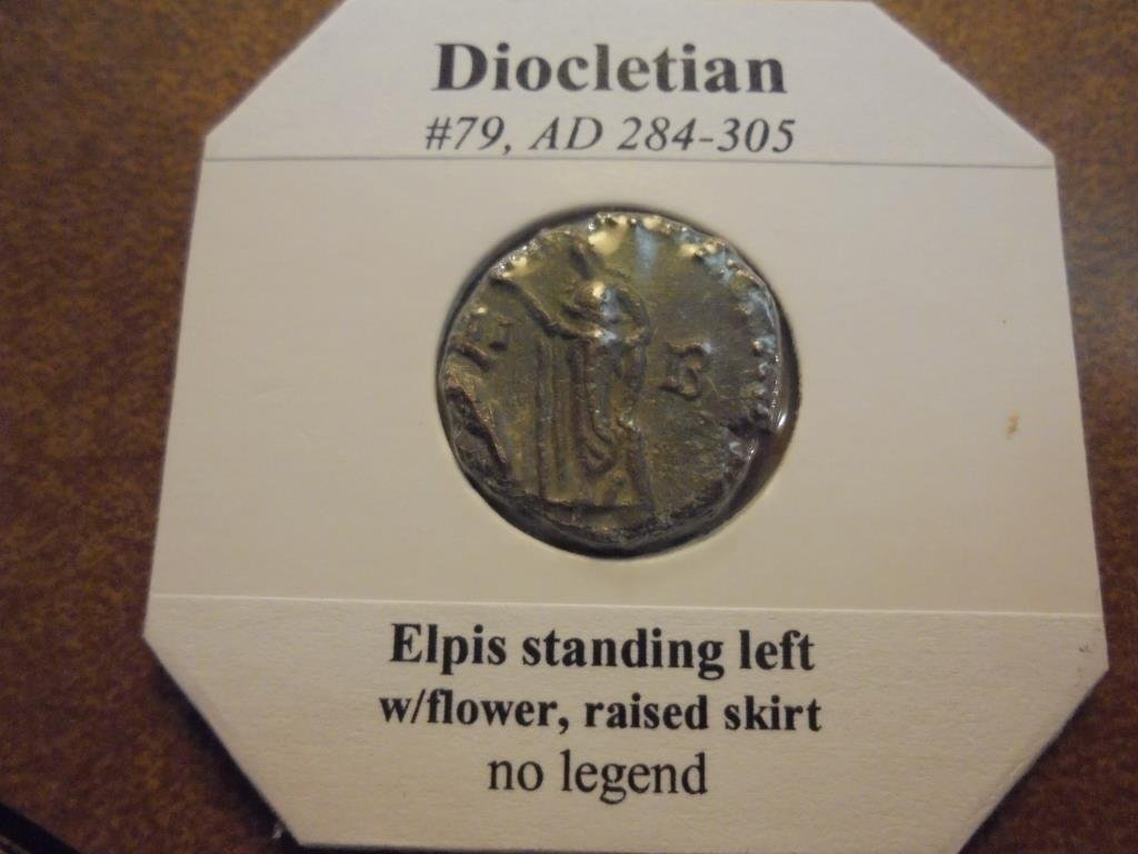 284-305 A.D. DIOCLETIAN ANCIENT COIN VERY FINE - 2