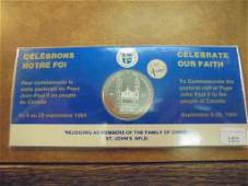 17841984 CANADA CELEBRATE OUR FAITH UNC TOKEN