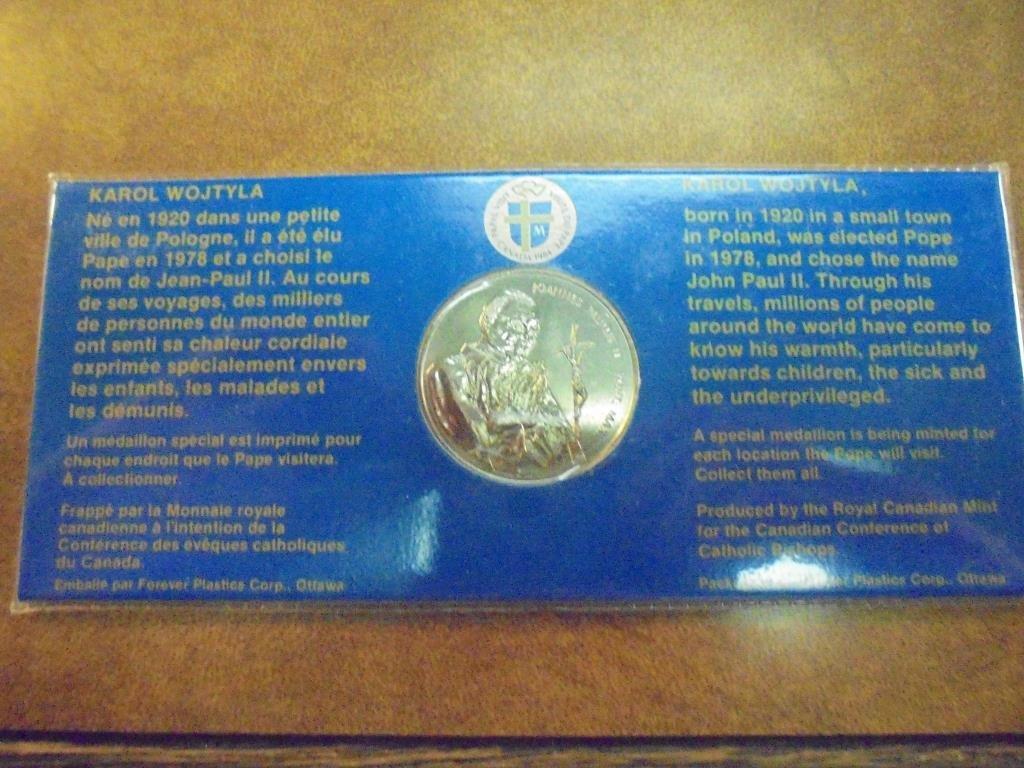 1784-1984 CANADA CELEBRATE OUR FAITH UNC TOKEN - 2