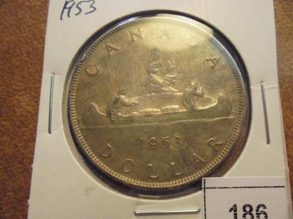 1953 CANADA SILVER DOLLAR