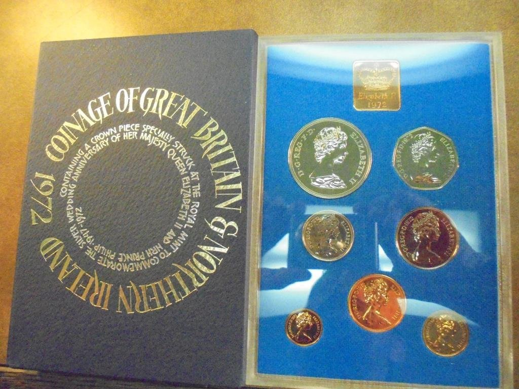 1972 GREAT BRITAIN AND NORTHERN IRELAND PROOF SET - 2
