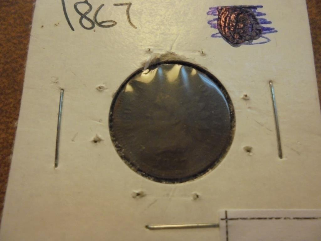 1867 INDIAN HEAD CENT KEY DATE