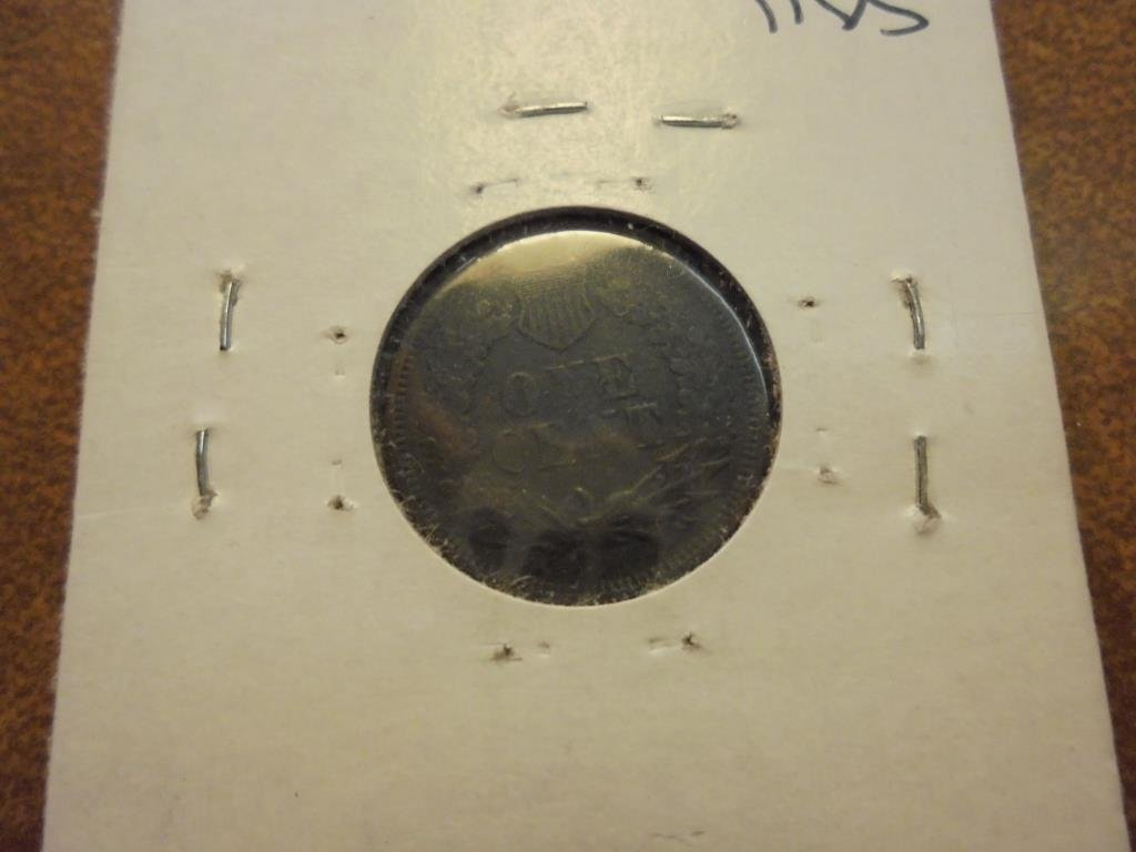 1867 INDIAN HEAD CENT KEY DATE - 2