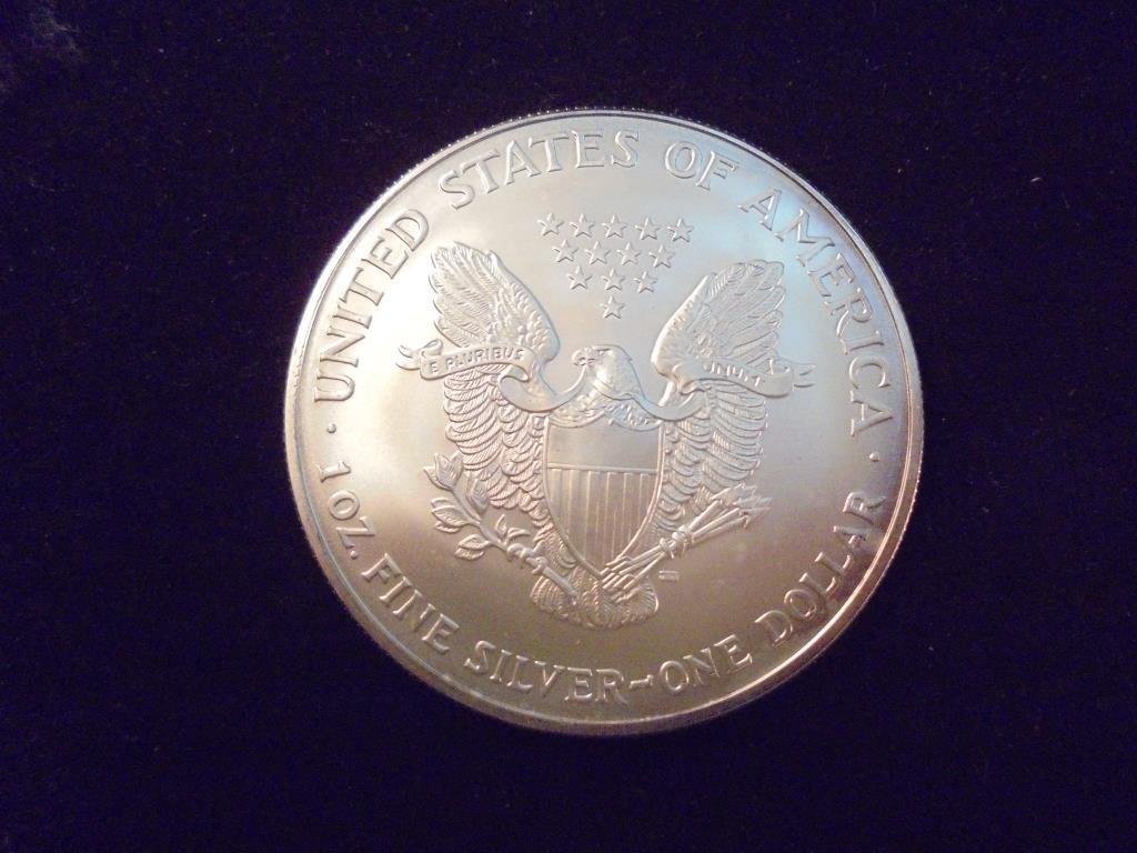 2003 AMERICAN SILVER EAGLE UNC - 2