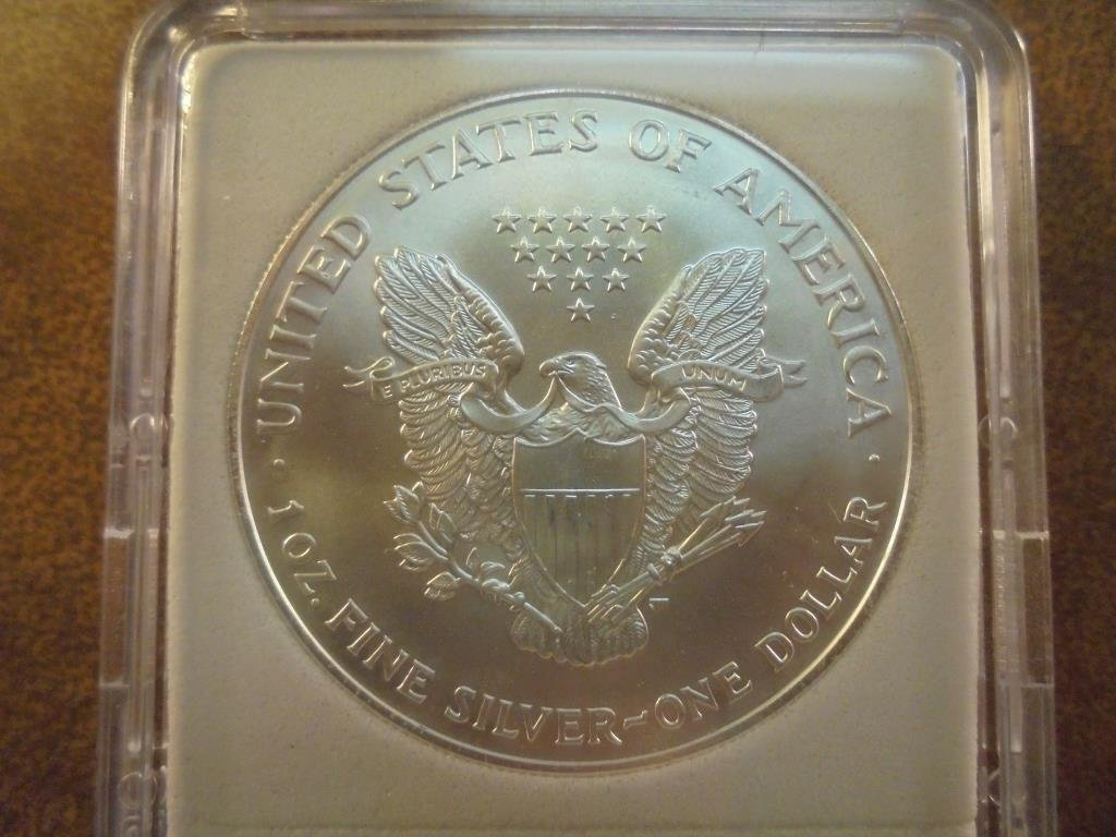 1999 AMERICAN SILVER EAGLE MS PERFECT - 2