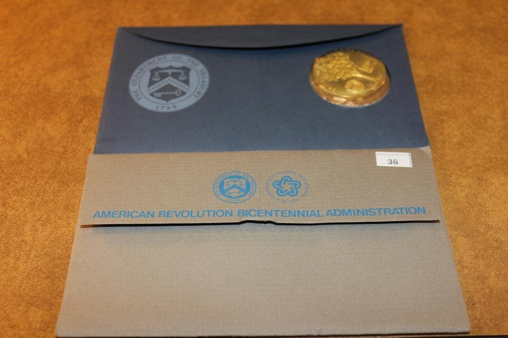 1972 & 1974 US BICENTENNIAL 1ST DAY COVERS - 2