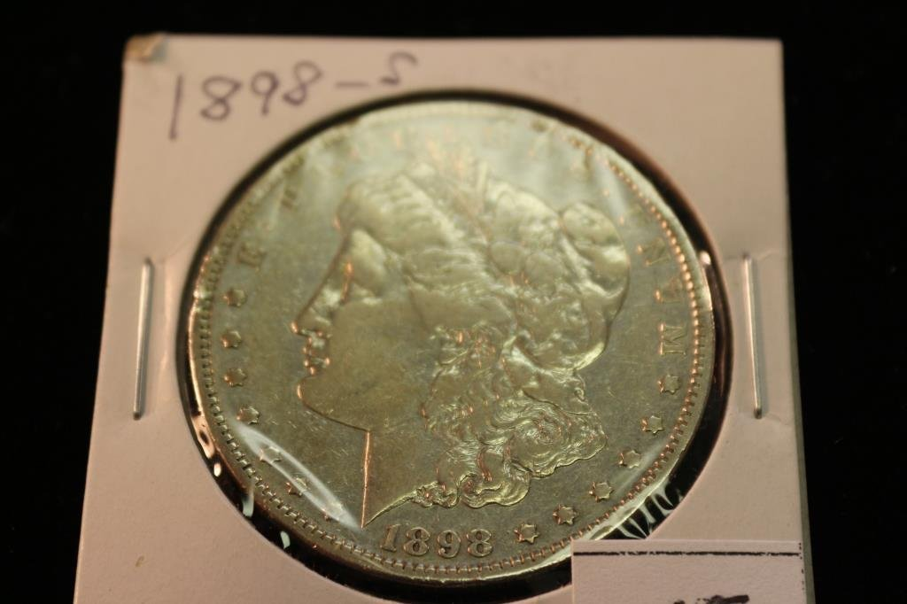 1898-S MORGAN SILVER DOLLAR