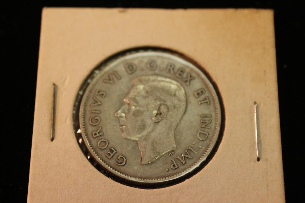 1943 CANADA SILVER 50 CENTS - 2
