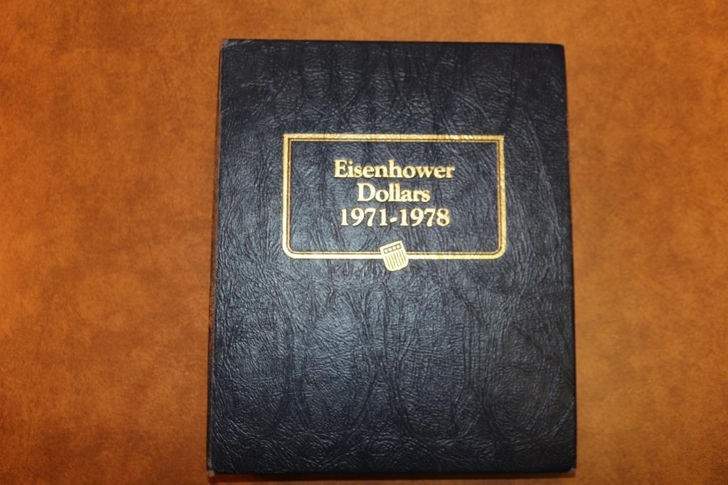 PARTIAL 1971-1978 EISENHOWER DOLLAR SET 5 COINS - 4