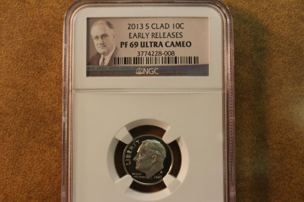 2013-S ROOSEVELT DIME NGC MS69 ULTRA CAMEO