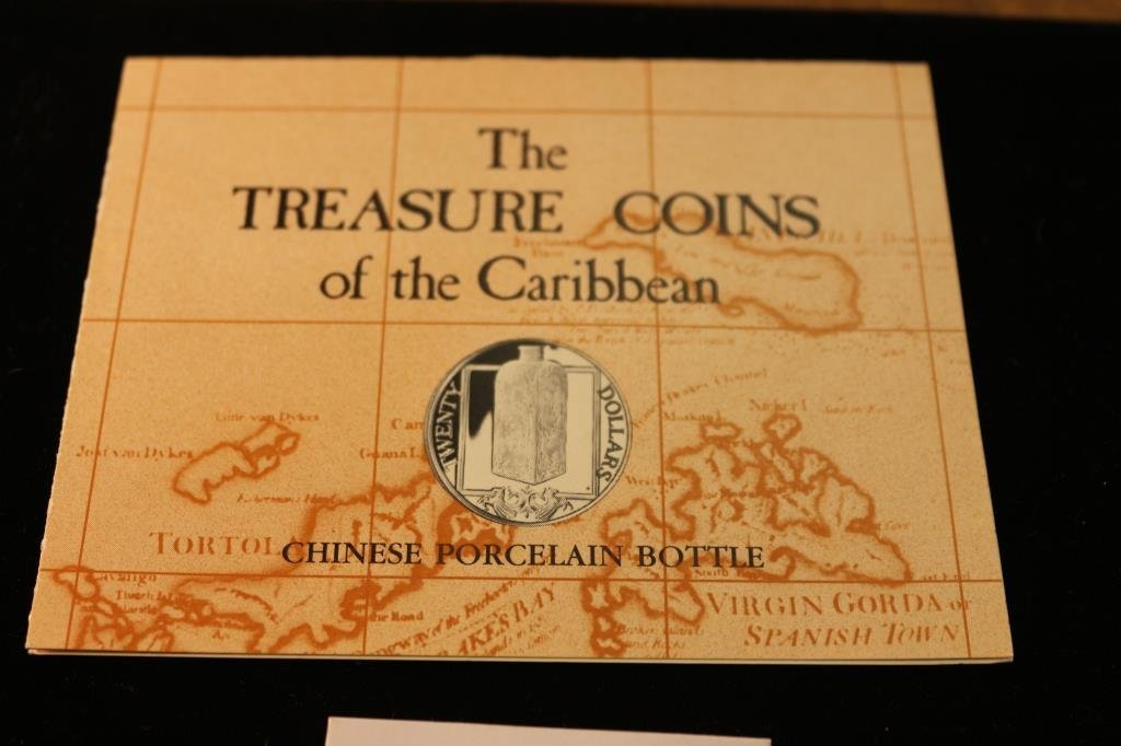 1985 BRITISH VIRGIN ISLANDS SILVER PROOF $20 - 3