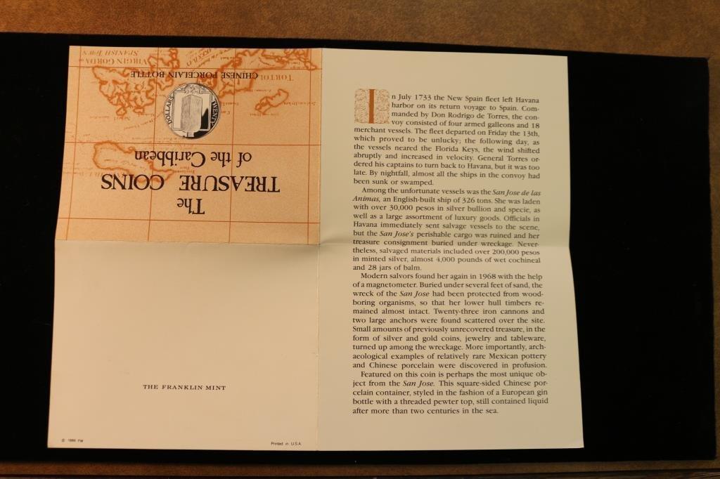 1985 BRITISH VIRGIN ISLANDS SILVER PROOF $20 - 5