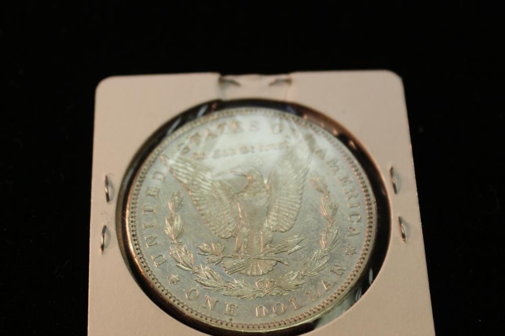 1897 MORGAN SILVER DOLLAR UNC - 2