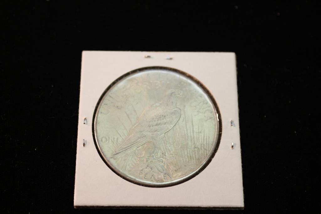 1925 PEACE SILVER DOLLAR - 2
