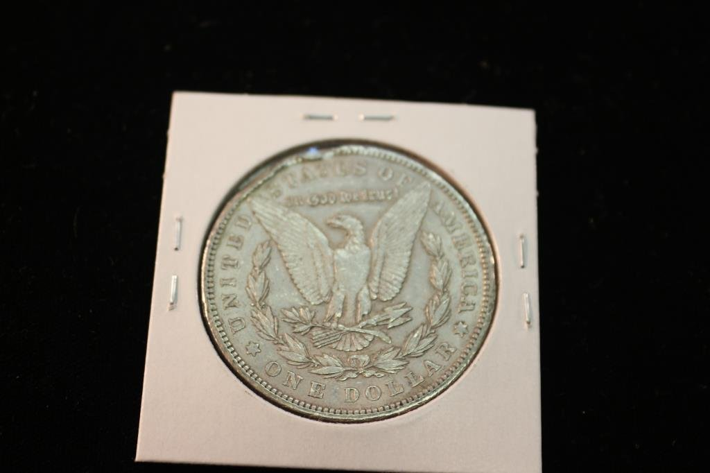 1903 MORGAN SILVER DOLLAR RIM BUMPS - 2