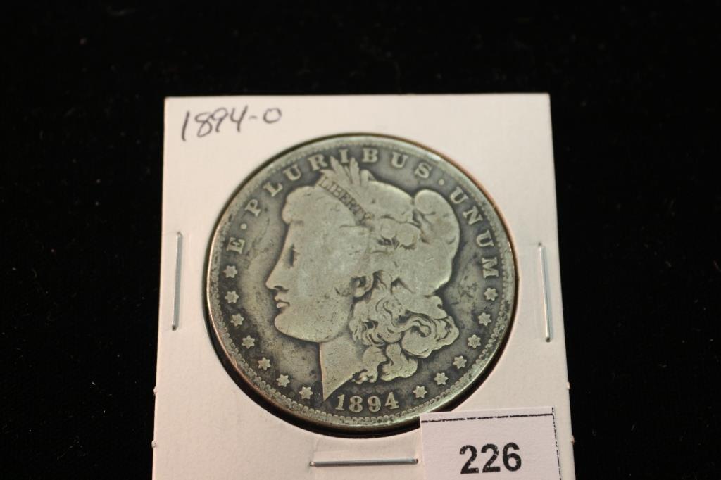 1894-O MORGAN SILVER DOLLAR BETTER DATE COIN