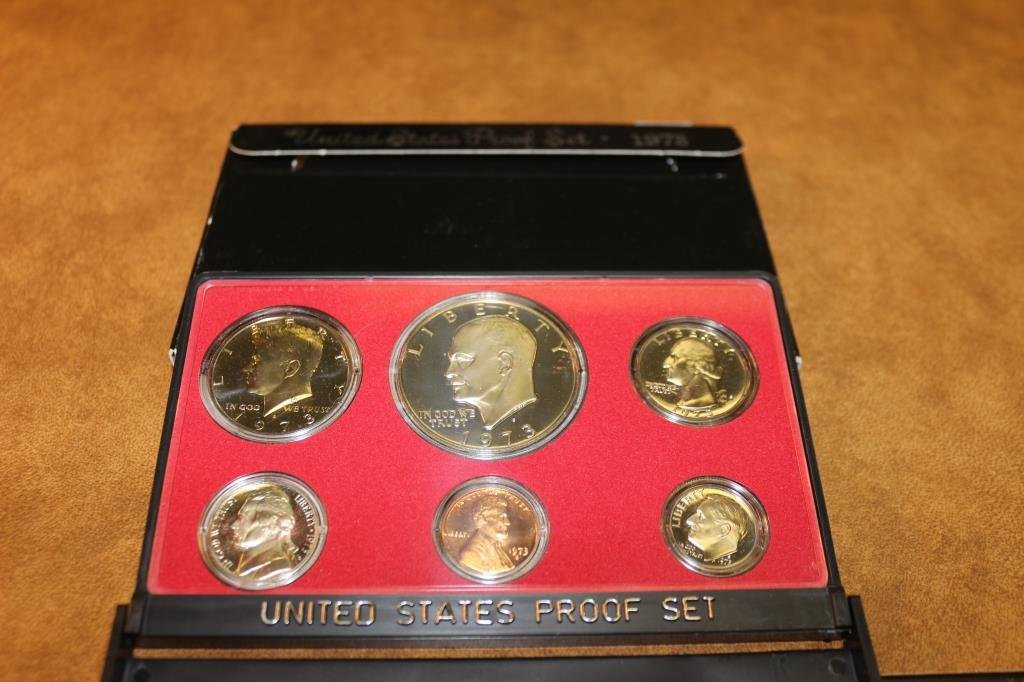1973 US PROOF SET (WITH BOX)