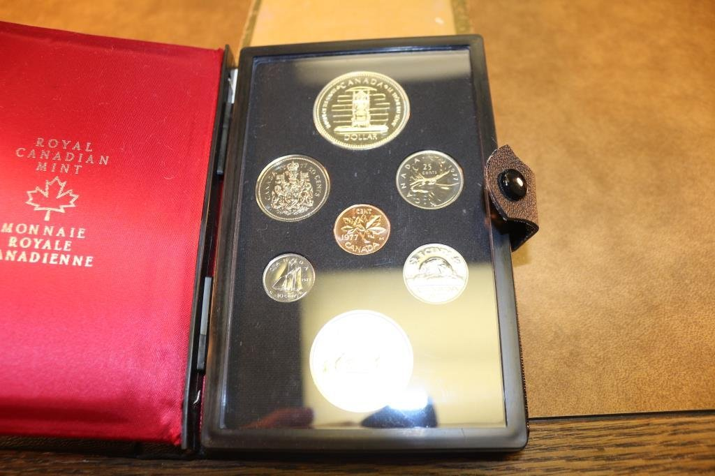 1977 CANADA DOUBLE DOLLAR PROOF SET SILVER