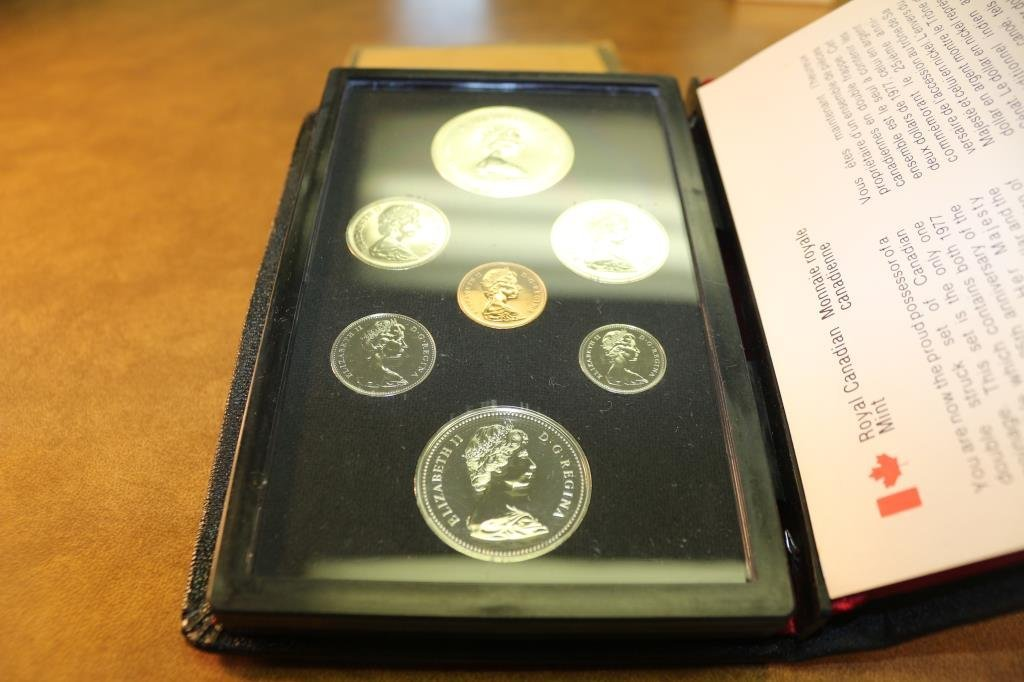 1977 CANADA DOUBLE DOLLAR PROOF SET SILVER - 2