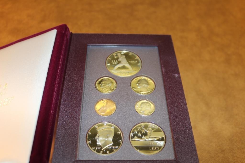 1992 US PRESTIGE PROOF SET OLYMPIC