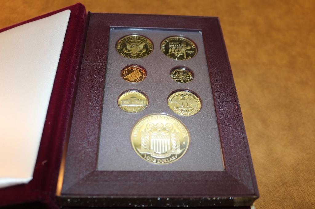 1992 US PRESTIGE PROOF SET OLYMPIC - 2