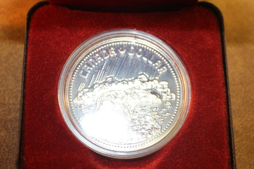 1980 CANADA ARCTIC SILVER DOLLAR PROOF
