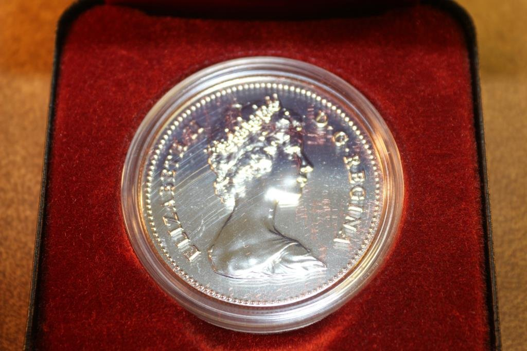 1980 CANADA ARCTIC SILVER DOLLAR PROOF - 2
