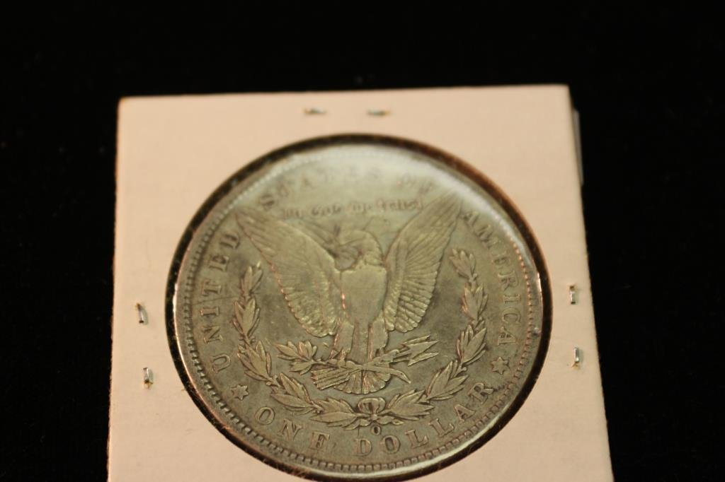 1900-O MORGAN SILVER DOLLAR - 2