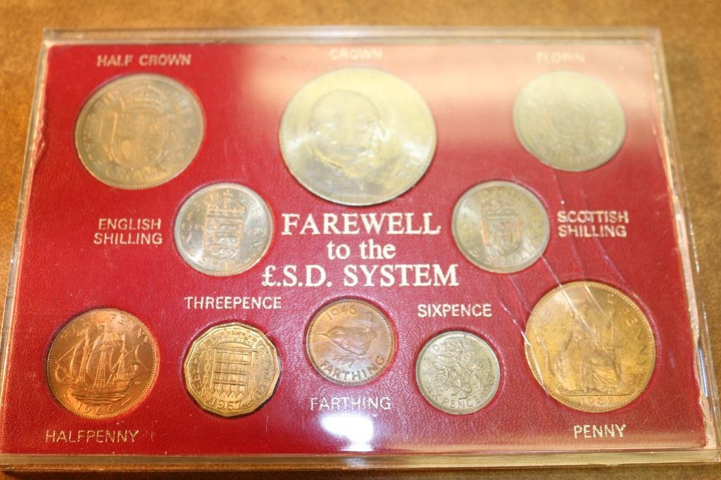 GREAT BRITAIN FAREWELL TO THE L.S.D. SYSTEM SET