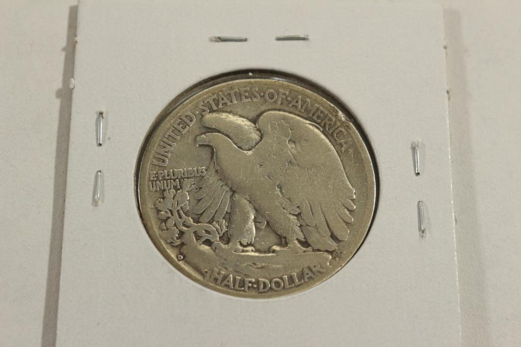 1935-D WALKING LIBERTY HALF DOLLAR - 2