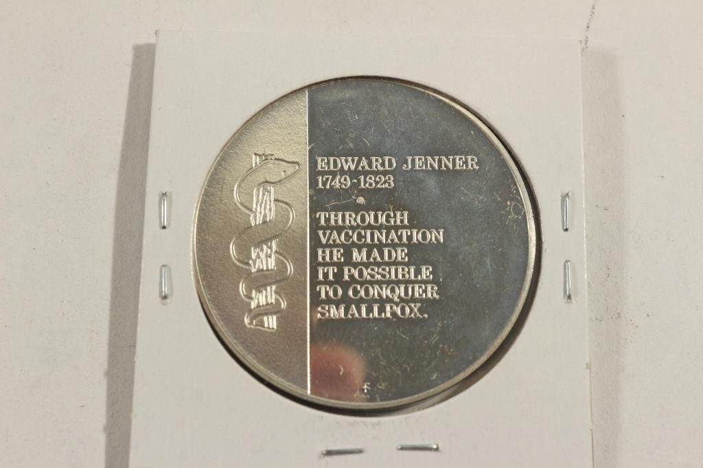 26.5 GRAM STERLING SILVER PROOF ROUND JENNER - 2