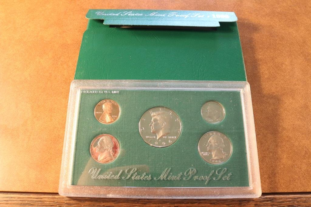 1996 US PROOF SET (WITH BOX)