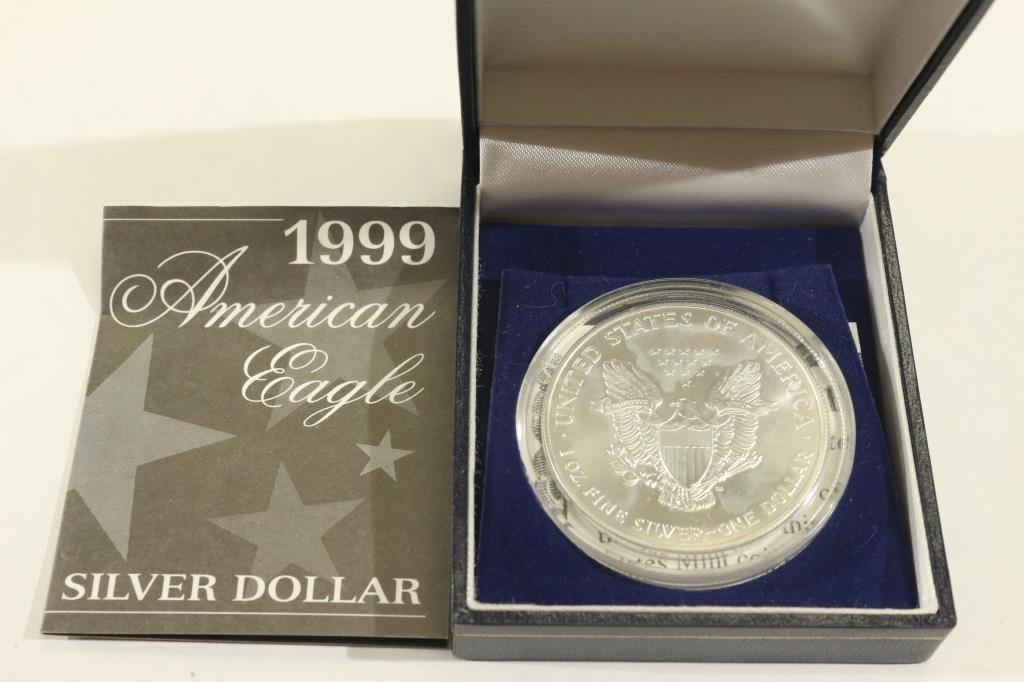 1999 COLORIZED AMERICAN SILVER EAGLE - 2