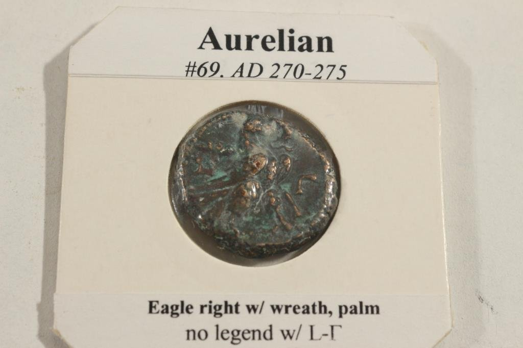 270-275 .A.D. AURELIAN ANCIENT COIN EXTRA FINE - 2