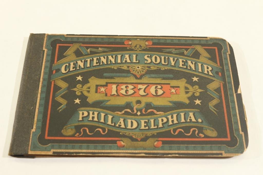 1876 PHILADELPHIA CENTENNIAL SOUVENIR BOOKLET