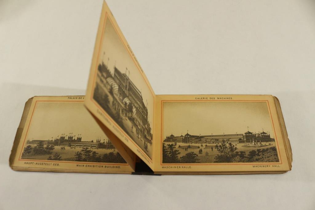 1876 PHILADELPHIA CENTENNIAL SOUVENIR BOOKLET - 2