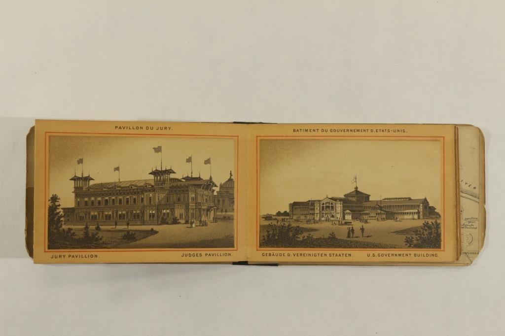 1876 PHILADELPHIA CENTENNIAL SOUVENIR BOOKLET - 3