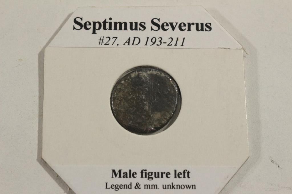 193-211 A.D. SEPTIMUS SEVERUS ANCIENT COIN - 2