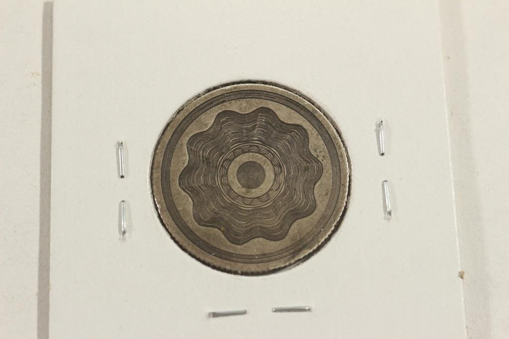 LOVE TOKEN MADE ON 1861 SEATED LIBERTY QUARTER