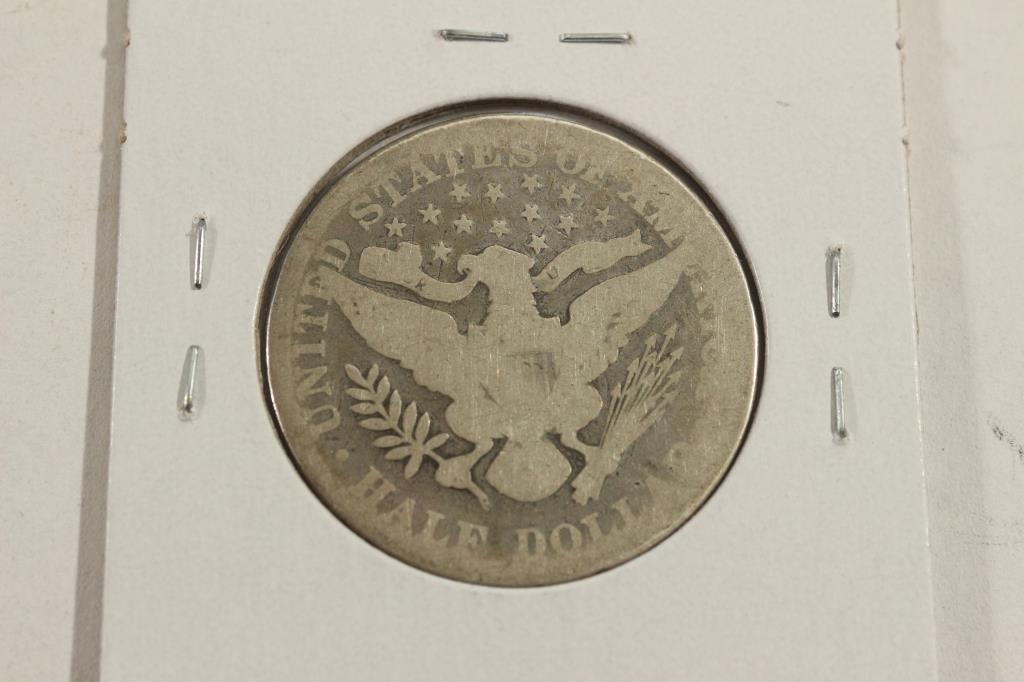 1895 BARBER HALF DOLLAR - 2