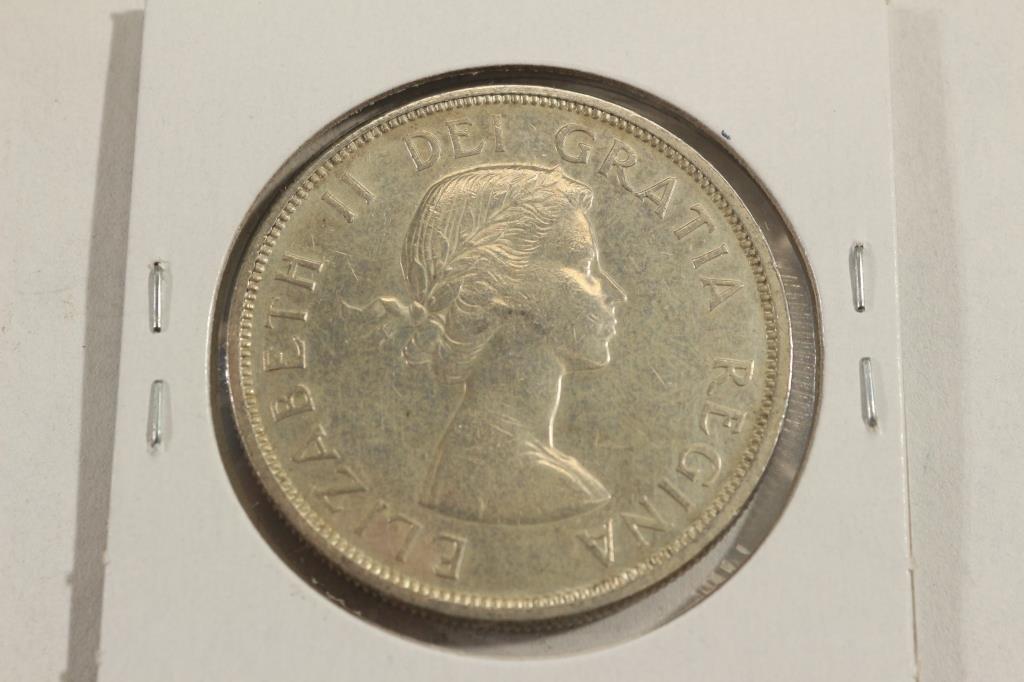 1961 CANADA SILVER DOLLAR - 2