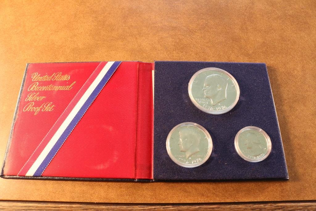 1976-S US BICENTENNIAL SILVER PROOF SET