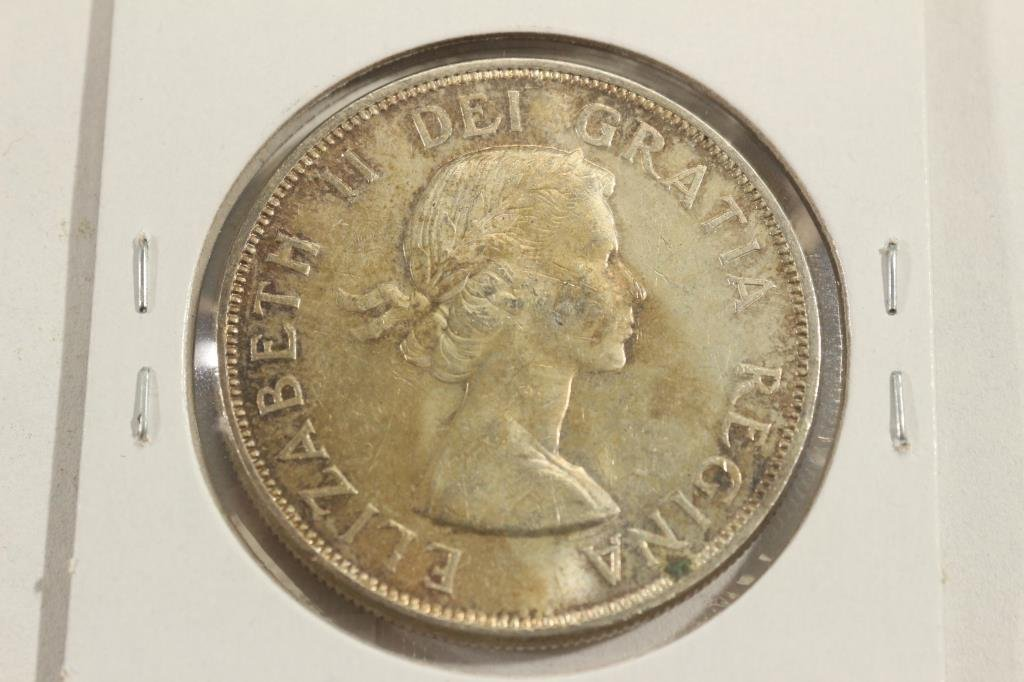 1963 CANADA SILVER DOLLAR - 2