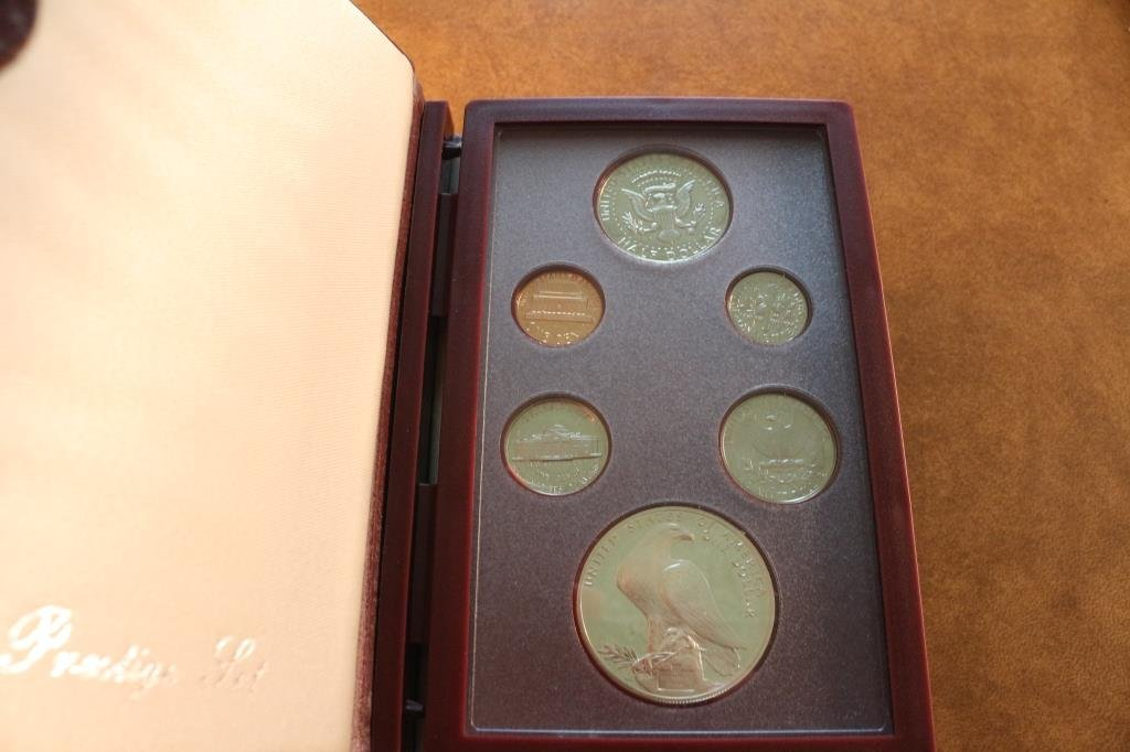 1984 US PRESTIGE PROOF SET OLYMPIC - 2