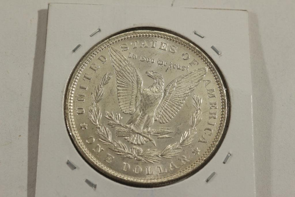1896 MORGAN SILVER DOLLAR BU - 2