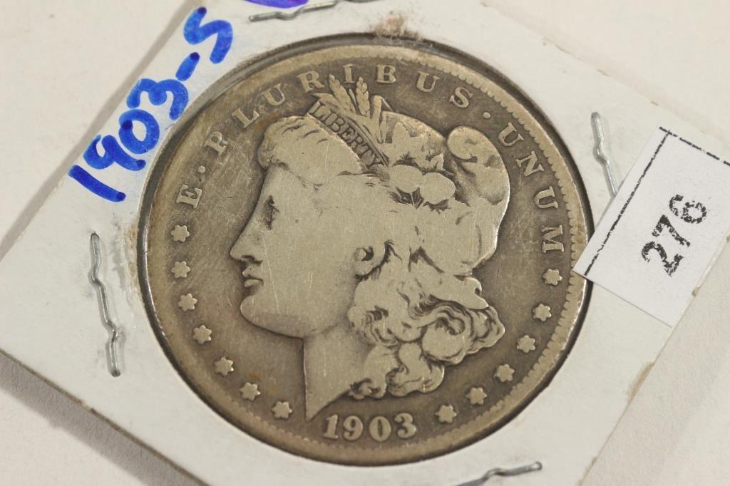 1903-S MORGAN SILVER DOLLAR BETTER DATE
