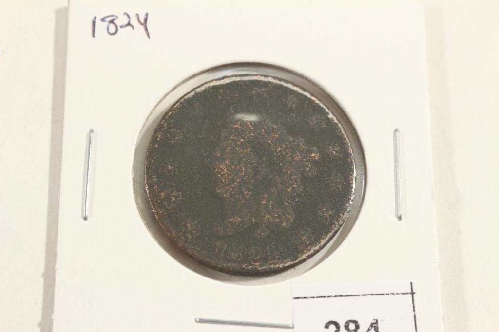 1824 US LARGE CENT